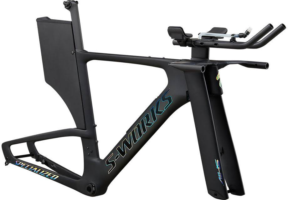 2020 Specialized S-Works Shiv Disc Module in Carbon/ Holographic Foil