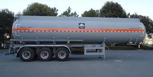 100 Truck Axles HZZ9401GFW 3 Semi Trailer Safe Transportation 35m3 Of
