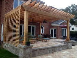 Stunning Screened Gazebo Photos by Stunning The Privacy Slats On The Side Hanging Baskets At