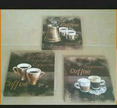 bild leinwand kaffee küche bilder retro