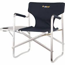 OzTrail Directors Chair With Side Table