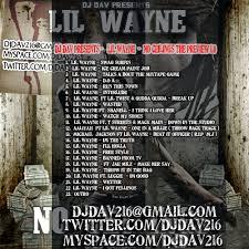 Lil Wayne No Ceilings 2 Tracklist by No Ceilings Prequel Tracklist Integralbook Com