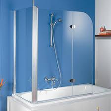 duschwand duschabtrennung für die badewanne badshop de
