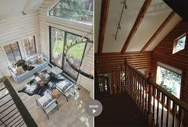 104 Wood Homes Magazine The Yin Yang Of Modernizing Log Tead Jackson Hole Architecture Interior Design Art