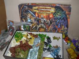 Heres One Of The Pride And Joys My HeroQuest Influenced Collection 2002 Dungeons Dragons Adventure Board Game With Both Expansions