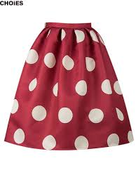 red and white polka dot skirt for adults u2013 modern trending things