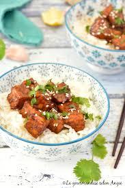 cuisiner le tempeh tempeh laqué à l ail au gingembre vegan la gourmandise selon