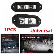 40W 3600LM Truck Off-Road Flush Mount LED Work Light Bar Pods Flood 1pcs Ultra Bright Bar For Led Light Truck Work 20 Inch Dc12v 24v Led Truck Tail Light Bar Emergency Signal Work Yescomusa 24 120w 7d Led Spot Flood Combo Beam Ip68 100w Cree Lamp Trailer Off Road 4wd 27w 12v Fo End 11222018 252 Pm China Actortrucksuvuatv Offroad Yintatech 28 180w 2x Tractor Lights Worklight Lamp 4inch 18w 40w Nsl04b40w Trucklite 81335c 81 Series Pimeter Flush Mount 4x2 Trucklites Signalstat Line Now Offers White Auxiliary Lighting