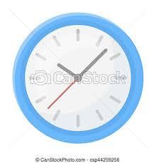 arriere plan de bureau animé style illustration horloge bureau symbole isolé