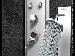 Geo Shower Panels by How To Install Shower Panels Www Bestbathroom4u Com Youtube
