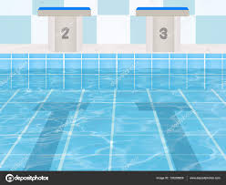 The Olympic Pool Stock Photo