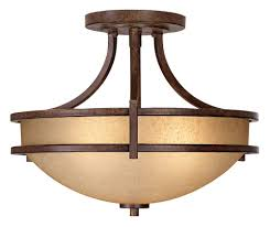 Rustic Flush Mount Ceiling Light Style