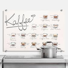 dekoration was 10662 küche wandtattoo kaffeesorten als
