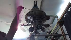 Hampton Bay Ceiling Fan Wiring Colors by How To Install Hampton Bay Redington Lll Ceiling Fan Youtube