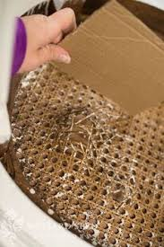 Recane A Chair Seat by Diy How To Remove And Re Cane A Chair Seat This Is Really An