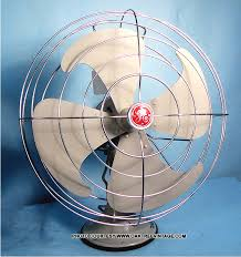 Vornado Table Fan Vintage by Antique Vintage Electric Fans Restored Refurbished And