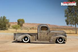 100 42 Chevy Truck ROUGH AND SLAMMED SHOP TRUCK FROM DARWIN