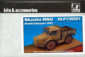 100 Resin Model Truck Parts Hauler S 172 SKODA RSO RADSCHLEPPER OST TRUCK Photo