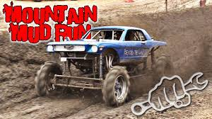 Mud Trucks Get Nasty At Mountain Mud Run - YouTube