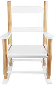 chaise enfant en bois fauteuil à bascule pour enfant en bois