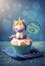 Laeacco 5x7ft Vinyl Photography Background Unicorn Cupcakes Are Real Happy Birthday Party Newborn Baby