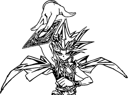 Yu Gi Oh Card Coloring Page