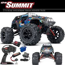 Traxxas 72054-5 1/16 Summit 4WD Extreme Terrain Monster Truck RTR W ... Tamiya 118 Konghead 6x6 G601 Monster Truck Kit Towerhobbiescom The Story Behind Grave Digger Everybodys Heard Of Atlanta Motorama To Reunite 12 Generations Of Bigfoot Mons Jurassic Attack Trucks Wiki Fandom Powered By Wikia Fleet Monster Trucks Conducts Rcues In Floodravaged Texas Top 10 Rc 2018 Video Review Worlds Faest Gets 264 Feet Per Gallon Wired Jam Mercedes Benz Stadium New Bright Ff 128volt 18 Chrome Showtime Truck Michigan Man Creates One The Coolest Greatest Toy On Earth Kenners Claw 4x4 Toy