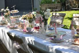Garden Tea Party Decoration With Table Centerpieces 10 Images About Spring Summer Decorations On