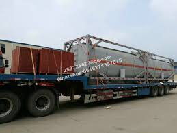 20ft HCL Acid Tank Containers 22000 Liters Export Vietnam - Hubei ...