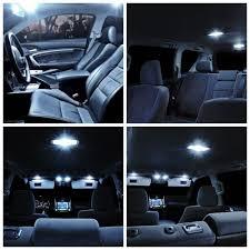 19Pcs Set White LED Lights Interior Package Kit For 2007 2012 BMW X5 ...