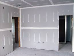 Hanging Drywall On Ceiling by Cost To Install Drywall In A Single Room Estimates And Prices At