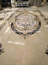 direct factory waterjet marble medallion floor tile design