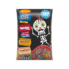 Halloween Candy Carb List by Hershey Halloween Snack Size Assortment 140 Pieces Walmart Com