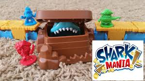 Fun With Shark Mania Game For Children Fast Paced And Pirate Board