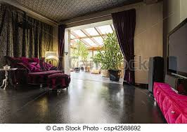 dunkelzimmer mit veranda teure dunkle lounge mit heller
