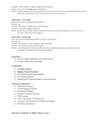 Sample Resume Factory Worker Iron Easy Apprentice With Additional Foreman