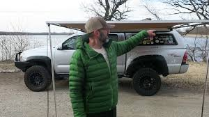100 Truck Camping Ideas Canvas Ideas Awning For Pre Owned Tv Orange Interior With