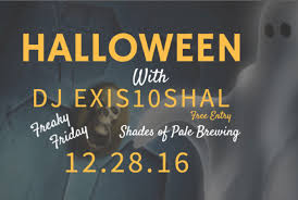 Halloween City Slc Utah by Freaky Friday Halloween Party U2013 Shades Of Pale Brewing