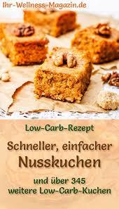 schneller einfacher low carb nusskuchen rezept ohne
