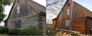 Log Home Repair Log Stains Cabin Restoration Staining Products