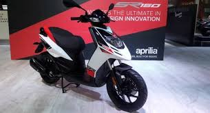 Aprilia SR 150 Priced At Rs 65000 Launch Next Month