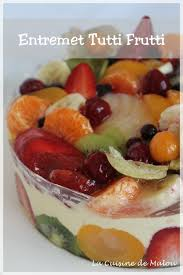 recette cap cuisine le tutti frutti cap pâtissier la cuisine de malou