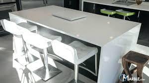 White Quartz Dining Table Organic Kitchen Timeless S Zodiac Room