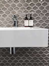 Bella Lux Crystal Bathroom Accessories by Nova Hex Collection 9374 Nova Hexagonal Stretch Bevel In Colour