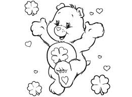 Care Bears Good Luck Bear Coloring Page