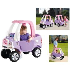LITTLE TIKES COZY Truck Pink Princess Children Kid Push Ride-on Toy ...