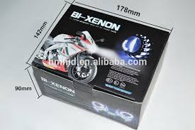 selling high quality motorcycle square bi xenon