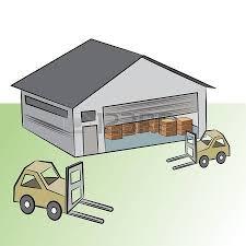 Storage Warehouse Clipart 7
