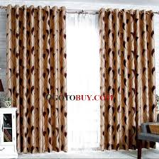 Primitive Curtains For Living Room by Casual And Primitive Style Curtains In Burgundy Color Buy