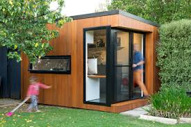 These Prefabricated Backyard Offices Are Incredible - Airows Backyard Studio Ideas Photo Albums Perfect Homes Interior Design Why Studio Shed Backyard Design Love For The Outdoors Tiny Home Office With Deck And Table 2015 Fresh Faces Cover Custom Studios Architect Builds A Tiny Studio In His Backyard To Be Closer Amys Landscape Garden I Small Sloped Front Yard Landscaping Plans Office Architecture 808 14 Inspirational Offices And Guest Houses